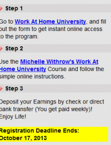 Is Work at Home University a Scam