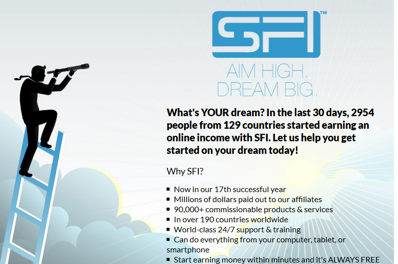 SFI Affiliate Program Review- An Honest Review From An SFI Affiliate