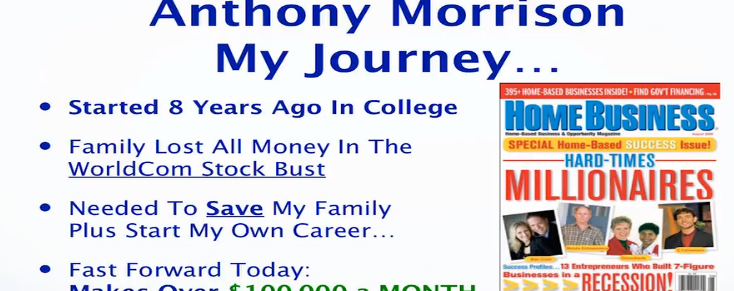 Success With Anthony- Is It A Scam?