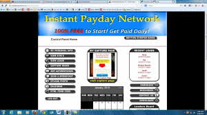 nstant Payday Network