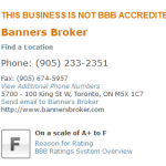 what is banners broker