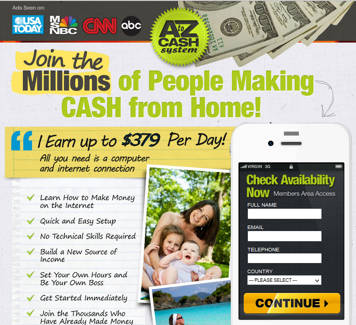 is A to Z Cash System a scam