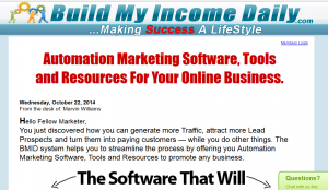 Build My Income Daily Review