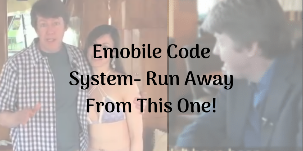 Emobile Code System Run Away From This One