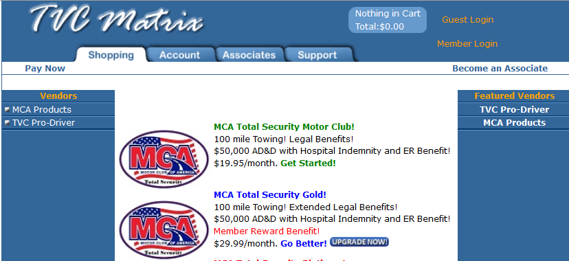 Motor Club of America (MCA) Honest Review, Why It's a Scam