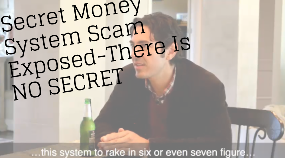 Secret System Money Exposed There Is No Secret