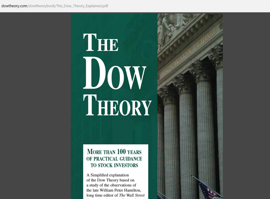 Four Corners Alliance Group The Dow Theory