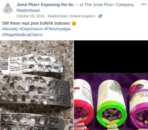 Juice Plus Illegal Health Claims