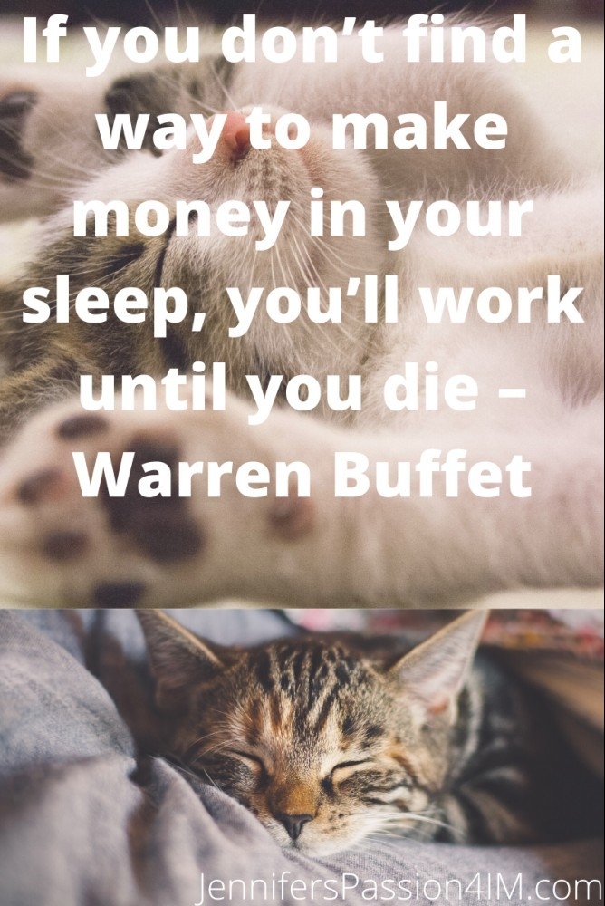 Make Money While You Sleep Quote