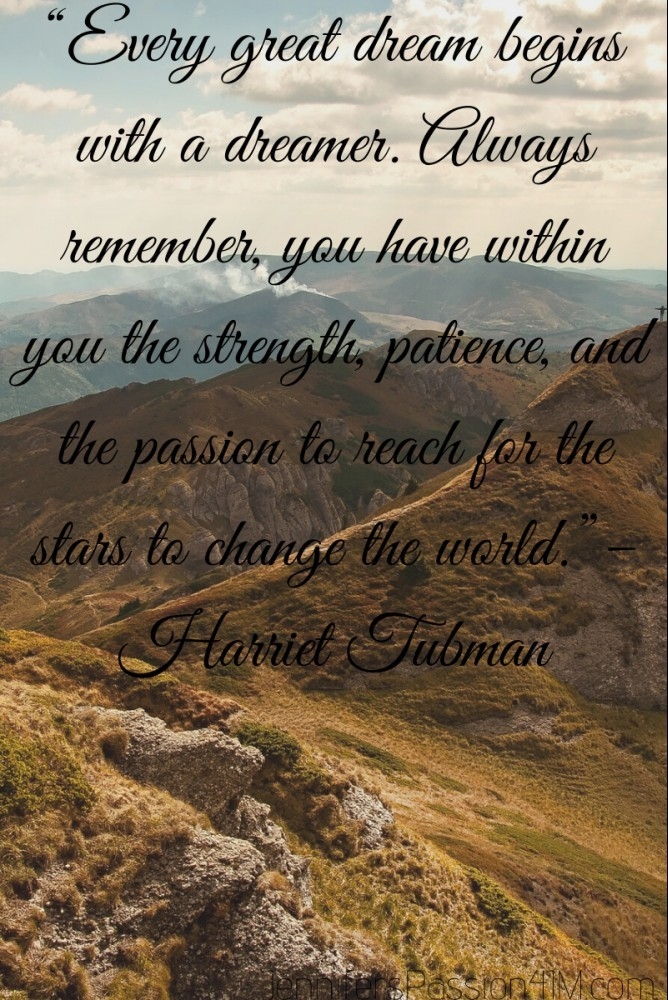 Success Quote by Harriet Tubman