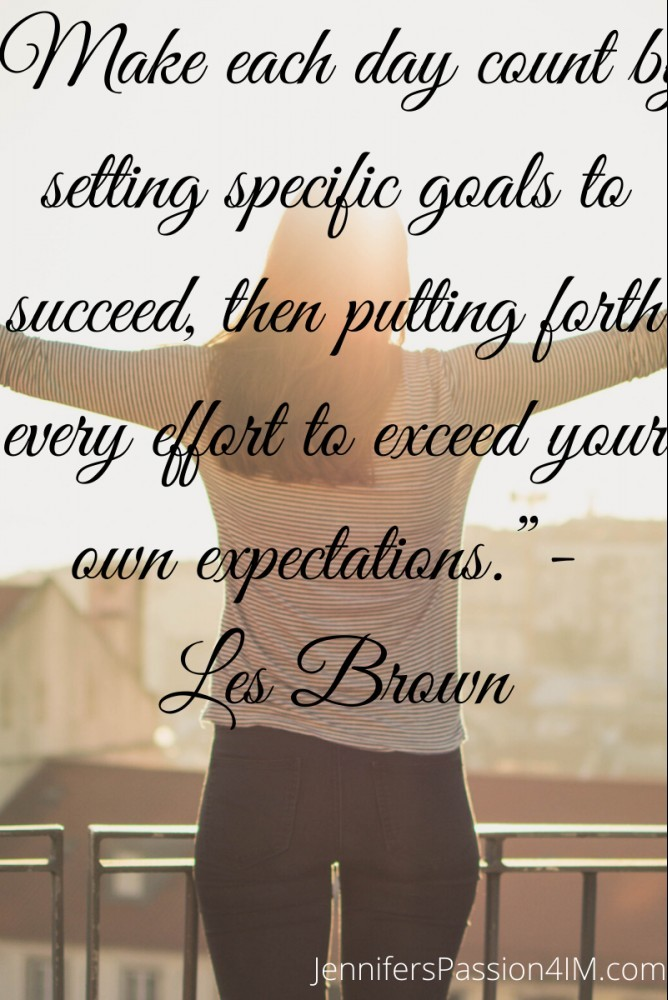 Success Quote By Les Brown